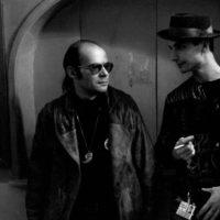 with Karl-Heinz Ziethen at the Festival, Paris 1990/photo: H. Schulz