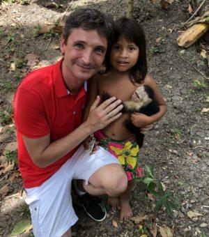 visiting an Embera indian tribe in Panama 2018