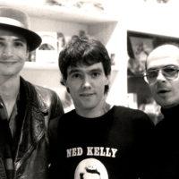 with Andrew Allen and Karl-Heinz Ziethen, Jonglerie Berlin 1988/photo: H. Schulz