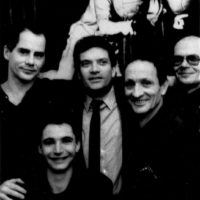 with Michael Moschen, Ernest Montego, Francis Brunn and Karl-Heinz Ziethen, Tigerpalast Frankfurt 1989/photo: H. Schulz